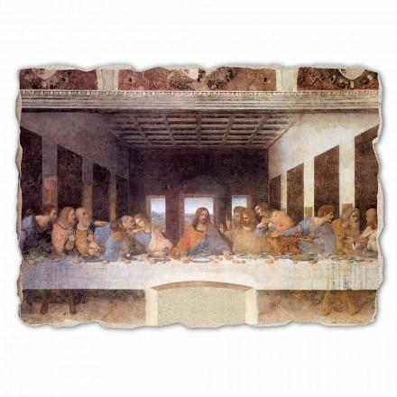 """stor fresco håndlavede Leonardo da Vincis """"Den sidste Nadver"""""""