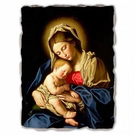 """stor fresco håndlavede Sassoferrato """"Madonna and Child"""""""