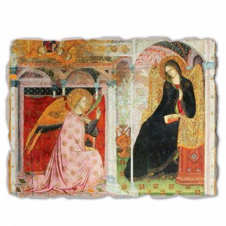 """stor fresco Frate Ilario fra Viterbo """"Bebudelsen"""" del."""