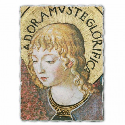 """stor fresco Gozzoli """"kor af engle i Tilbedelse"""" -1454"""