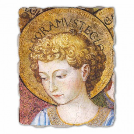 """stor fresco Gozzoli """"kor af engle i Tilbedelse"""" - 1454 ca"""