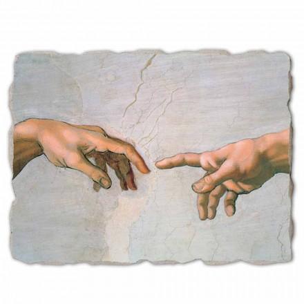 """store fresko af Michelangelos """"Skabelsen af Adam"""" særligt"""