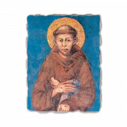 "Fresco reproduktion Cimabue ""San Francesco"" XIII århundrede"