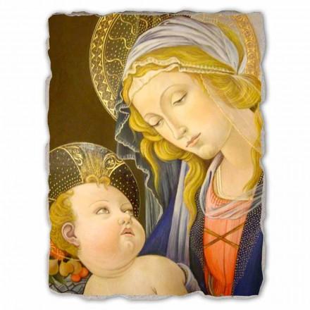 """Fresco fantastisk Botticelli """"Madonna af bogen"""""""