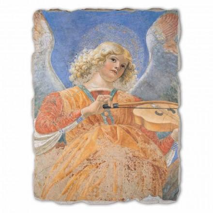 """Fresco fantastisk Melozzo da Forlì """"Angel Musiker"""""""