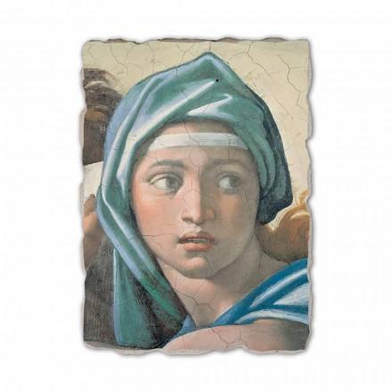 "Michelangelo fresco reproduktion ""Oraklet i Delfi"""