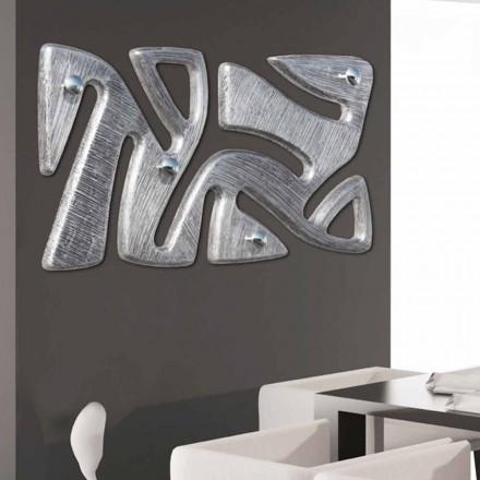 Wall hanger design håndindrettet i Holt sølvblad