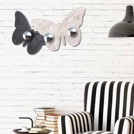Design wall coat hanger Melitea af Viadurini Decor