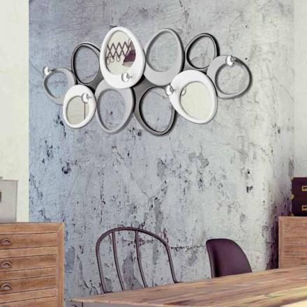 Wall coat hanger af design Molecole af Viadurini Decor