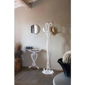 Otte krogejern designcoatstativ fremstillet i Italien - Giunone
