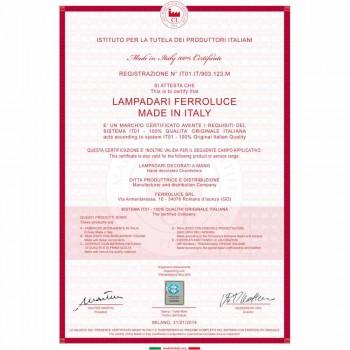 Applikation dekoreret keramiske væg og glas Ferroluce Ferrara