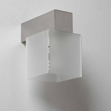 Lampe med skygge moderne design, L.11 x P.11cm, Matis