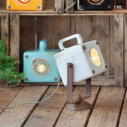 Wall vintage-stil industrielle keramik og jern Julia