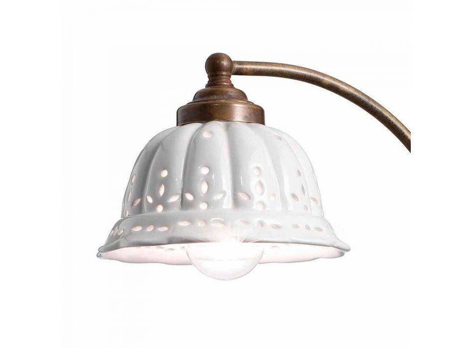 Applique art nouveau design keramik Anita Il Fanale