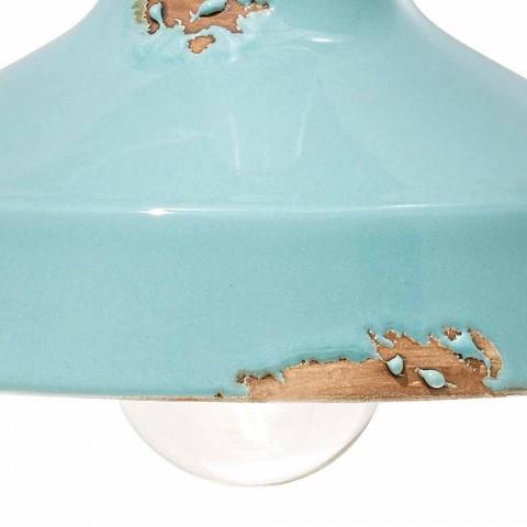 Applique vintage keramiske spotlight håndlavet Sandra Ferroluce