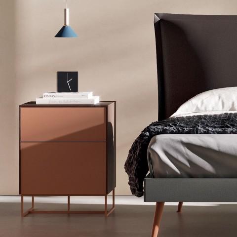5 elementer soveværelsesmøbler fremstillet i Italien Luksus - Zakynthos