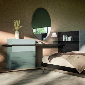 6 -element soveværelsesmøbler fremstillet i Italien - Rubin