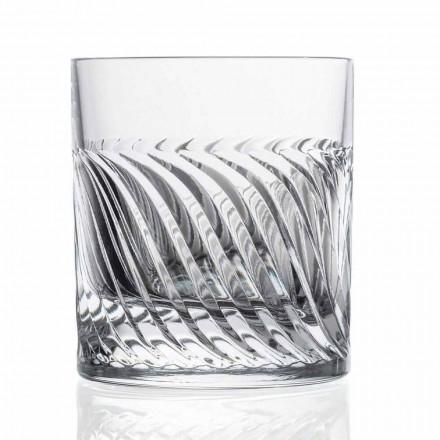 Luksus Eco Crystal DOF Design Whisky Glasses 12 stykker - arytmi