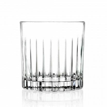 Dobbelt gammeldags tumbler lave briller 12 stykker luksus - Senzatempo