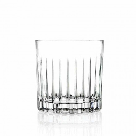 Lowball Tumbler Basso gammeldags briller til Cockatil 12 stykker - Senzatempo