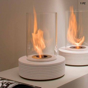 Biocamino runde support marmor Gordon, fremstillet i Italien