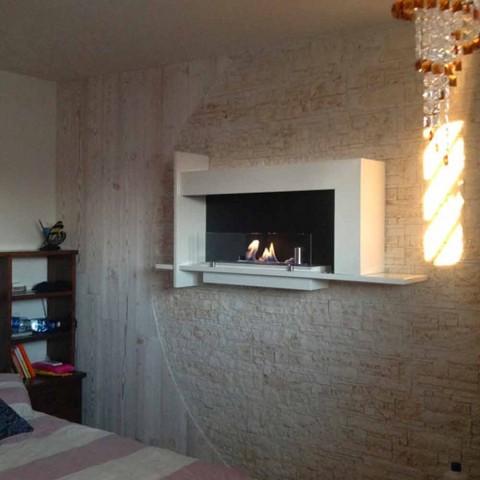 Biocamino fra Wall Modern Design Baudelaire