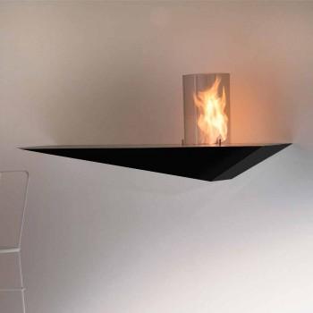 Bio-pejs i moderne design i malet stål og glas - Malcolm