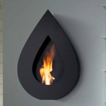 Biocamino Moderne Wall bioethanol til Joseph flamme form