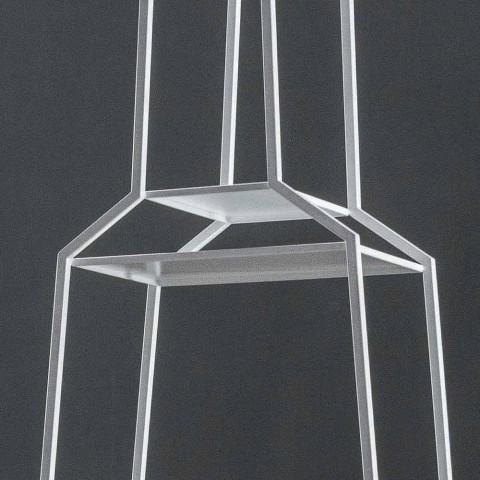 Bonaldo April 210x60cm farvet metal design reolhus lavet i Italien
