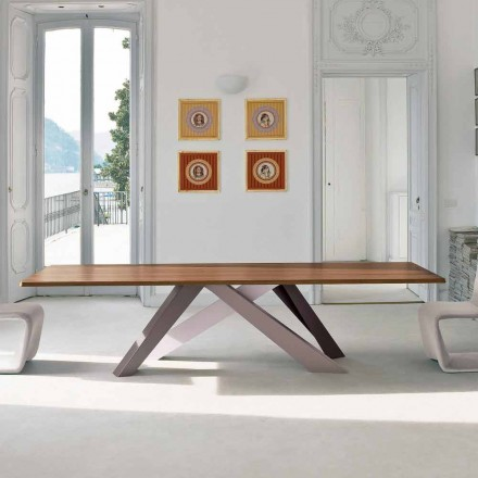 Bonaldo Big Table fineret træbord lavet i Italien design
