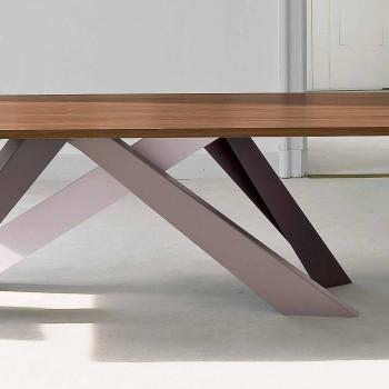 Bonaldo Big Table fineret træbord lavet i Italien design
