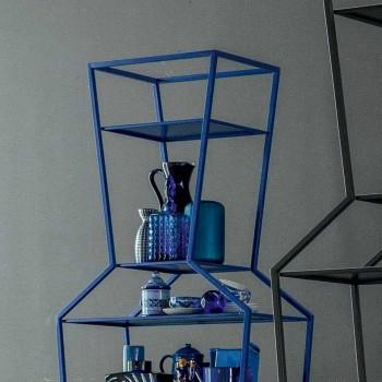 Bonaldo juni farvet metal bogreol af design H190xL70cm lavet i Italien