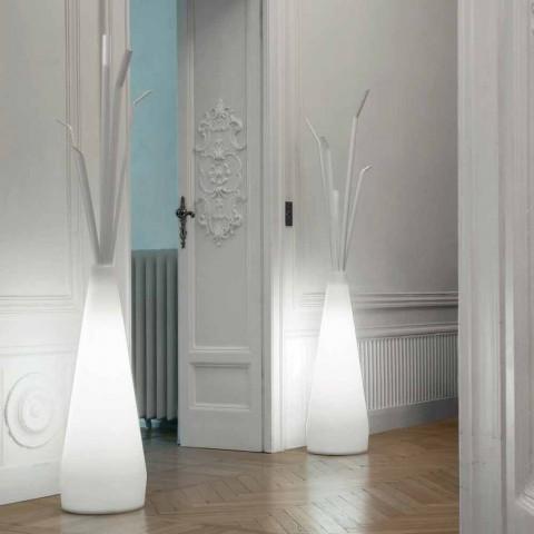 Bonaldo Kadou frakkeholder med polyethylen designlys lavet i Italien
