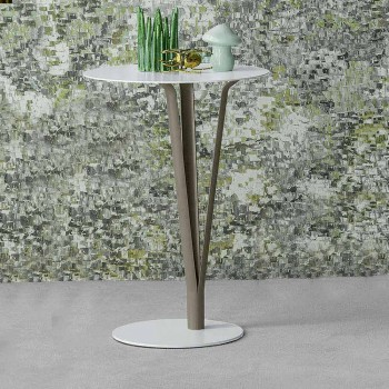 Bonaldo Kadou designbord i malet stål D39cm lavet i Italien