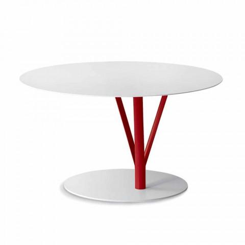 Bonaldo Kadou design bord malet stål D70cm lavet i Italien