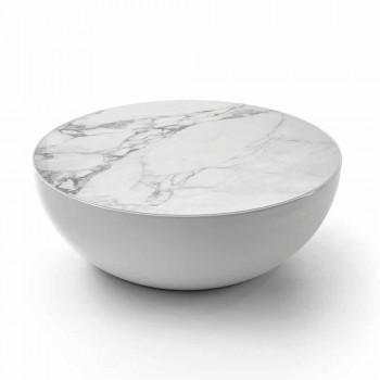 Bonaldo Planet design keramisk bord Calacatta lavet i Italien