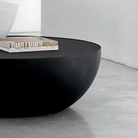 Bonaldo Planet designbord i ætset glas lavet i Italien