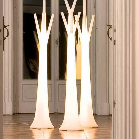 Bonaldo Tree bøjle med lys lavet af polyethylen lavet i Italien