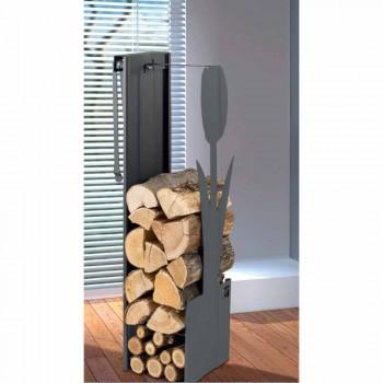 Caf Design PLVF brænde holder stål, moderne design