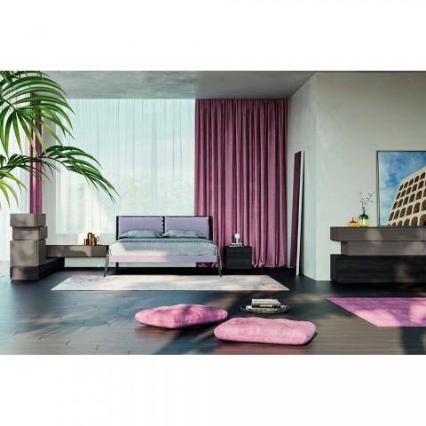 Komplet 6 -element luksus soveværelse fremstillet i Italien - Adige