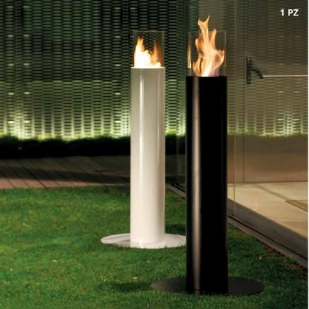 Pejs Udendørs gulv bioethanol, Dean lakeret stål
