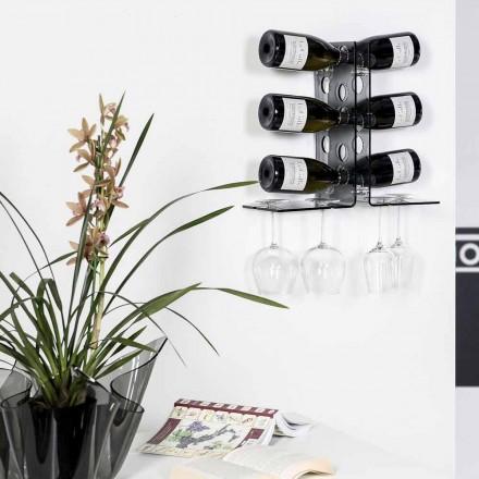 Kælder dør væg tonede flasker Luna, moderne design