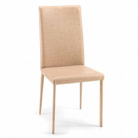 Carly moderne design spisestue stol lavet i Italien
