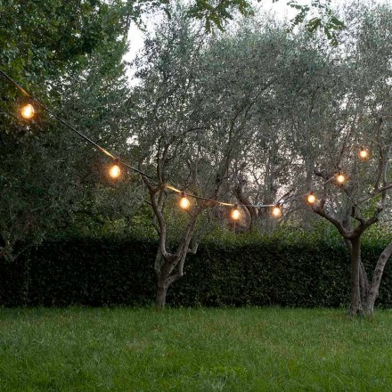 Neopren udendørs kabel med 8 pæreholdere og 2 kroge fremstillet i Italien - Festa