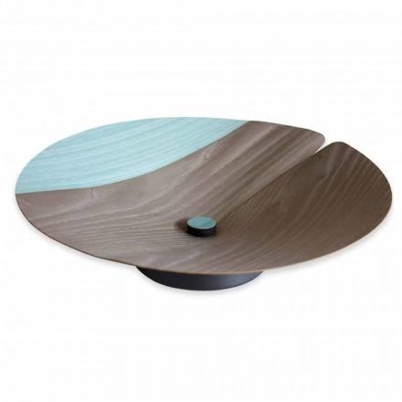 Center bordfrugt holder moderne i massivt træ fremstillet i Italien - Stan