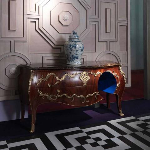 Dresser i marmor og dekorationer i ottore design, fremstillet i Italien, Gildo