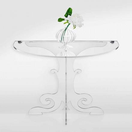 Klassisk design natbord i akrylkrystal og PMMA, Tiana