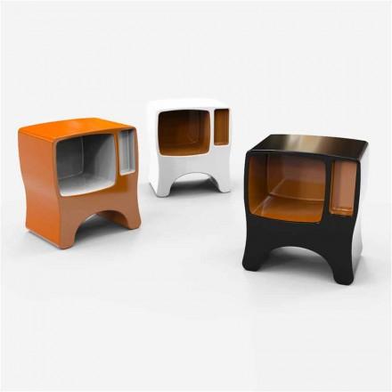 Design natbord i katodisk solid overflade lavet i Italien
