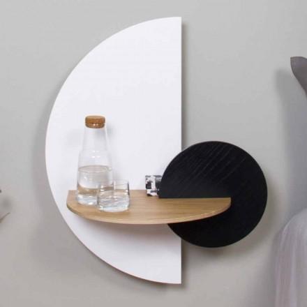 Moderne modulopbygget sengebord i krydsfiner Elegant og alsidigt design - Ramia