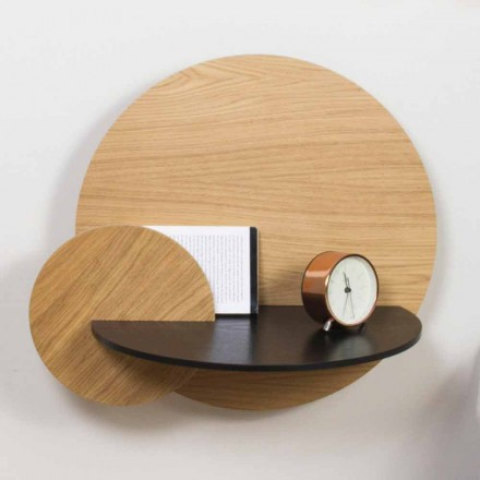 Modulært sengebord Elegant design i krydsfiner med skjult rum - Bigno